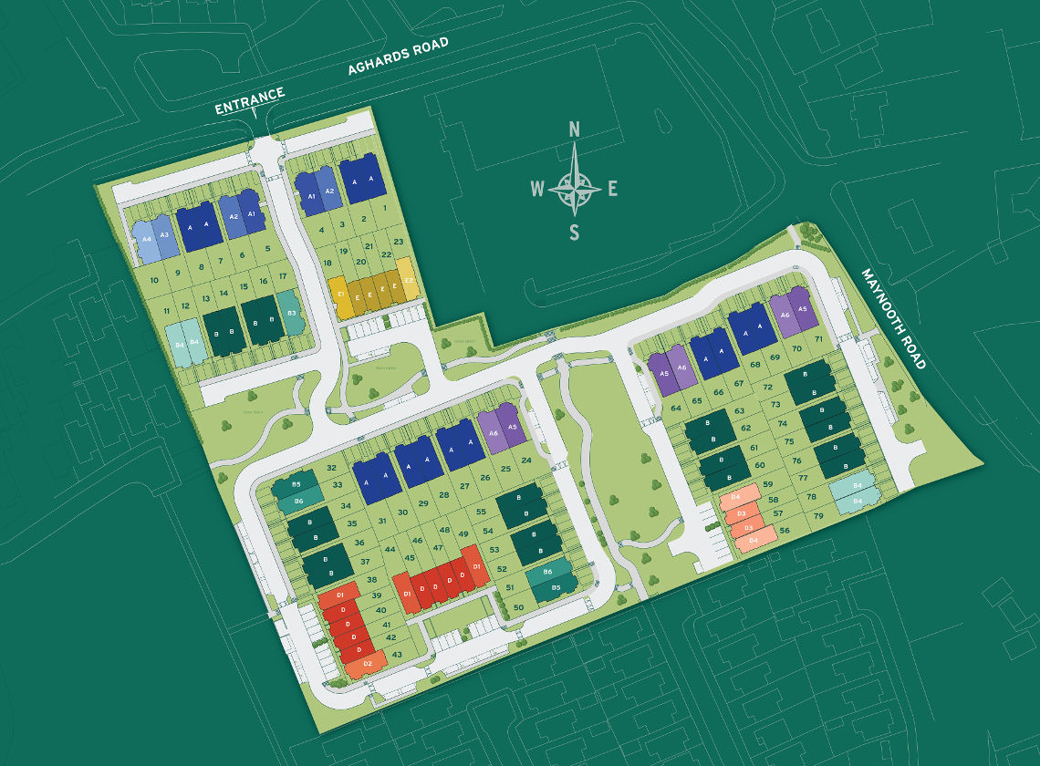Castlewellan Park Site Plan